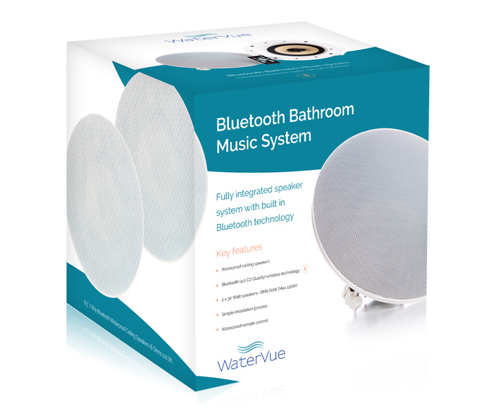 Bathroom Music System box
